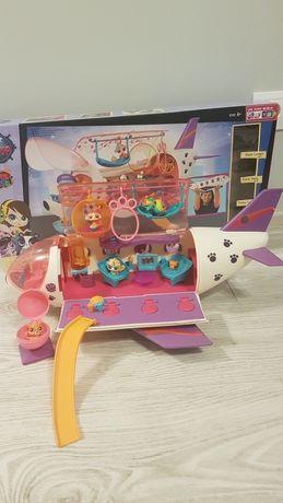 Littlest Pet Shop samolot plus gratis