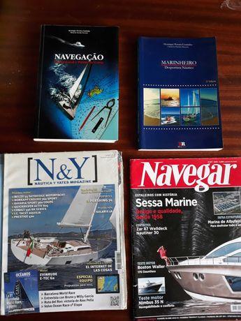 Navegaçao livros + revistas