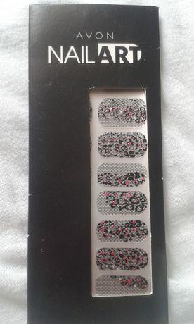 Naklejki na paznokcie Avon