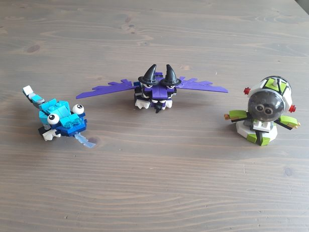 Lego Mixels - 3 Stworki - POLECAM