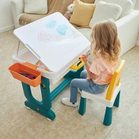 """Детский многофункциональный столик POPPET """"Трансформер 6 в 1"""" и стул"""