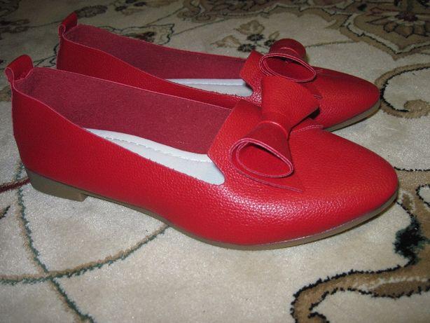 Туфли кожанные для девочки