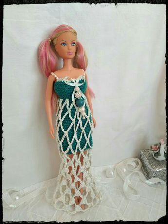 Вязаные платья для Барби. Ручная работа!