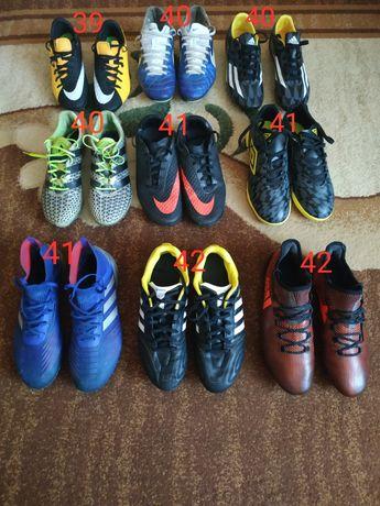 Бутсы гибриды Nike Adidas Puma Umbro 39 40 41 42 профи оригинал