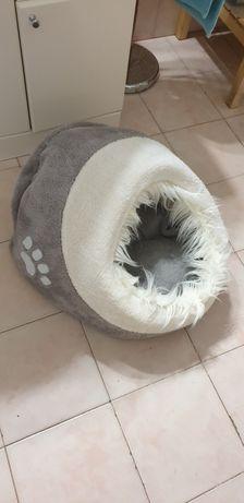 Cama de gato em tecido