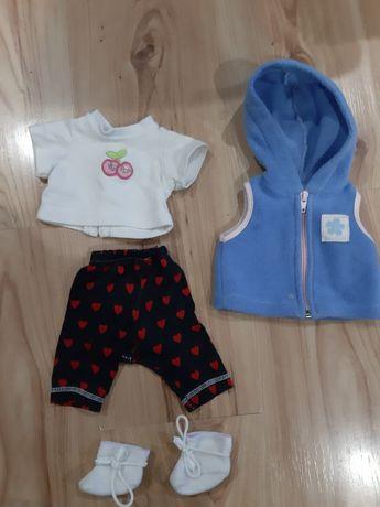 Ubranka dla lalki Baby born zestaw