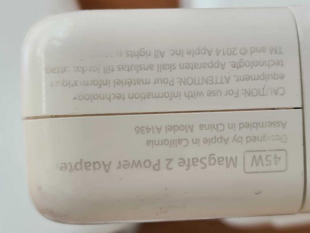 Оригинальный блок питания Apple Magsafe 2 45w A1436
