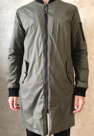 Куртка, удлиненный бомбер размер L