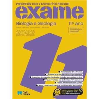 Preparação para o Exame Nacional de Biologia e Geologia 2022!!!