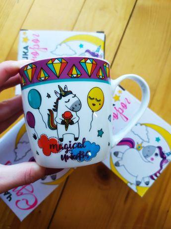 Дитяча чашка з єдинорогом кружка єдиноріг Единорожка чашка