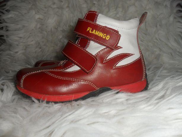 Ботинки демисезонные ( кожа) р. 28, длина стельки 18.5 см.