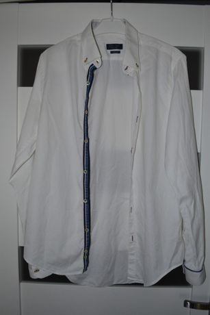Koszula ZARA męska 100% bawełna
