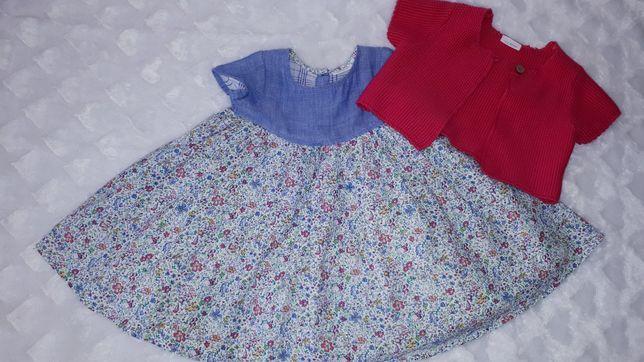 Komplet sukienka bolerko