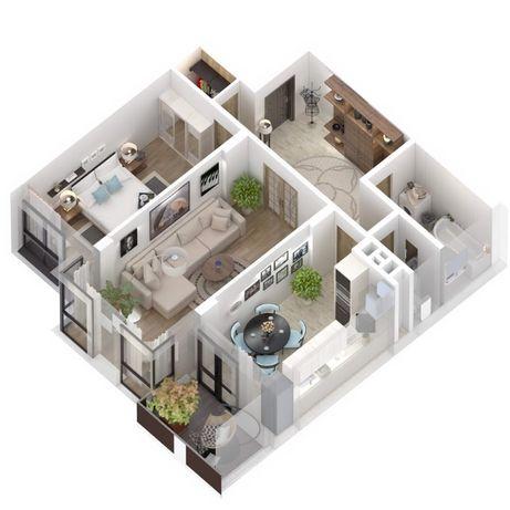 Продаж 2 кім квартира 67 кв м Новобудова ЦІНА ЗАБУДОВНИКА !