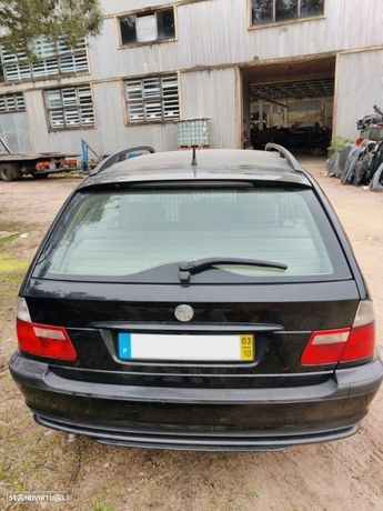BMW Serie 3 E46 Touring SW carrinha 320d 150 cv 2001 2002 2003 2004 2005 M47D20 (204D4)