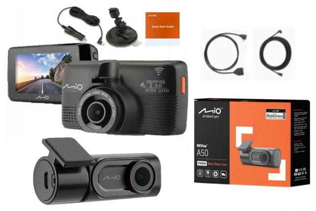 Mio Mivue 798 Kamera Tył i Przód A50 Sony Starvis Wideorejestrator