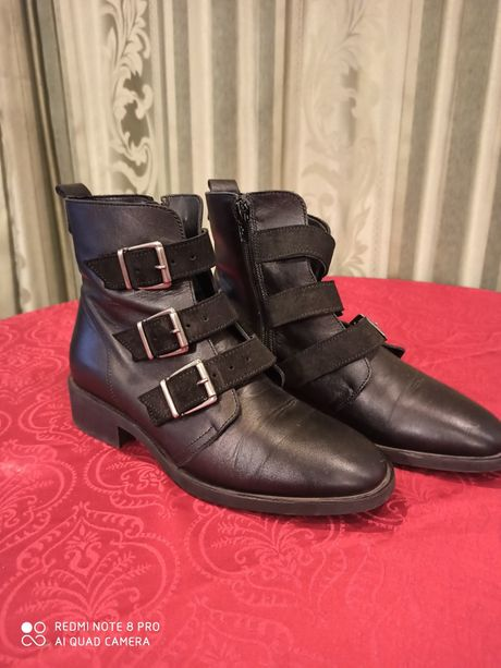 Ботинки кожаные Bianko