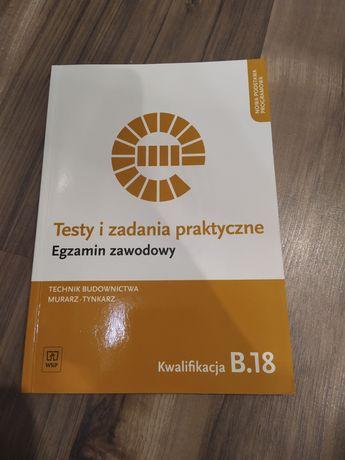 Testy i zadania praktyczne egzamin zawodowy tech bud.Kwalifikacja B.33