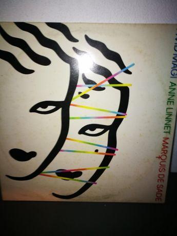 Anne Linet / Marquis de Sade - Hvid Mag - (LP Ed Dinamarquesa)