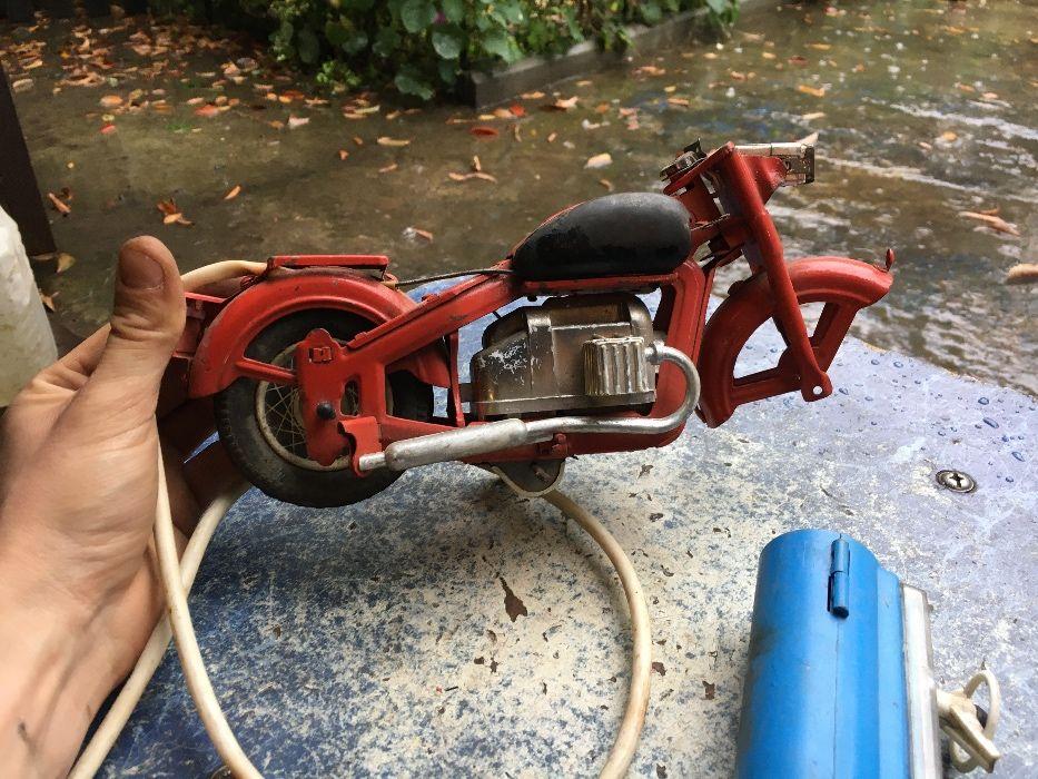 Продам Железная игрушка мотоцикл 70-годов в коллекцию СССР Киев - изображение 1