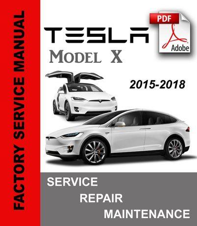 Service manual Tesla model X инструкция, разборка, детали, схемы