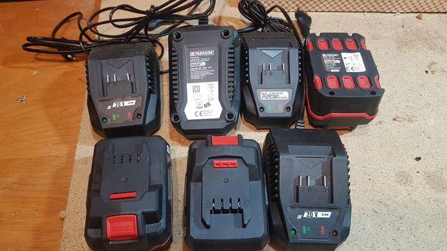 Bateria PARKSIDE 20V 4 AH Nova e carregadores