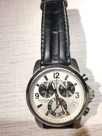 Часы наручные (годинник) кварцевый хронограф Certina DS Podium