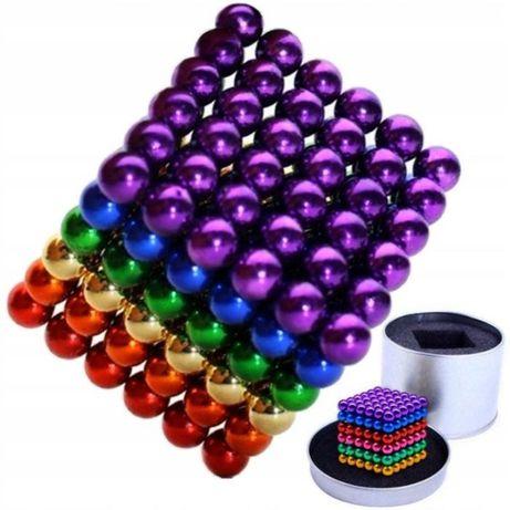 Конструктор анти-стресс Neo Cube 5мм. 216 шариков Неокуб в боксе