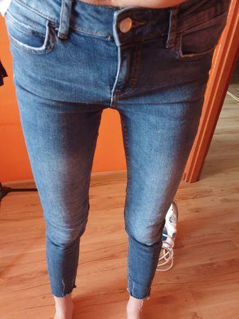 Jeansy z firmy zara