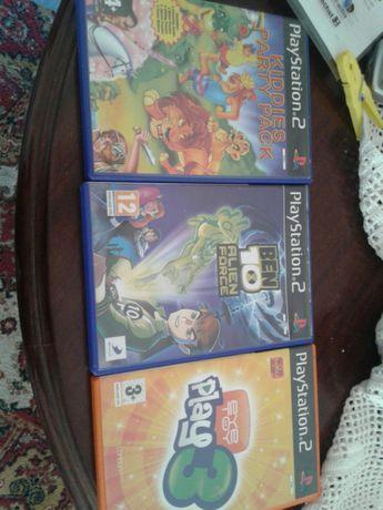 3 jogos PlayStation 2