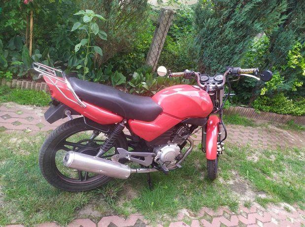 Yamaha YBR 125 niski przebieg, gaźnik, nowe części