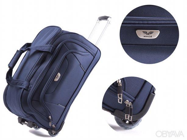 Вализа 50-70-90 літрів Сумка чемодан на колесах Валіза чемодан 2в1