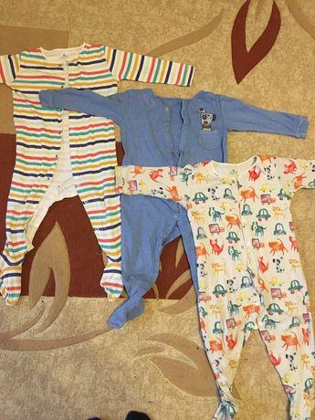 Пижама Next комплект (3шт) для мальчика 1,5-2 года