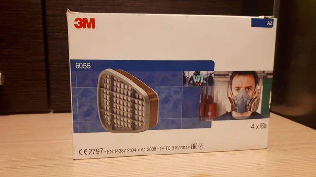 Filtry filtropochłaniacze do masek 3M - 6055 A2