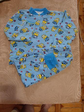 Детская Пижама на флисе