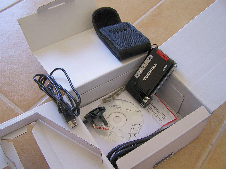 Câmara filmar Toshiba Camileo S30 para peças ou reparação Oleiros-Amieira - imagem 1