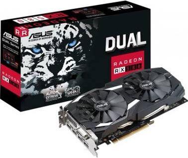 ASUS Dual Radeon RX 580 Direct X12 memory 8GB