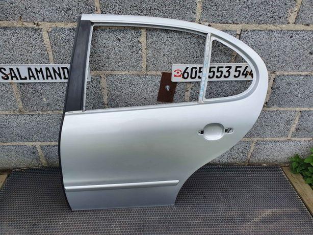 Drzwi Tyl Tylne Srebrne LA7W Seat Leon I Toledo II Poszycie