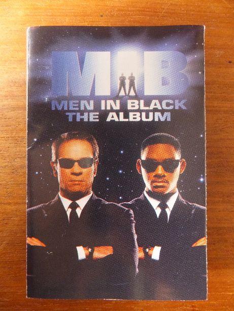 Okładka kasety magnetofonowej O.S.T. MEN IN BLACK oryginalna 1997