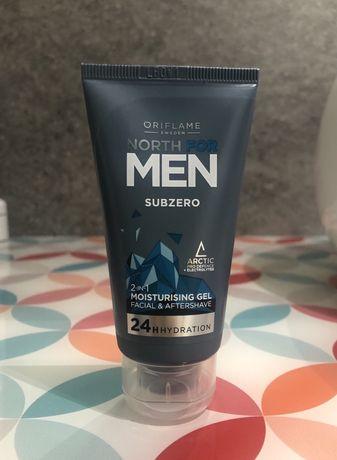 Nawilżający żel do twarzy North For Men Subzero Oriflame