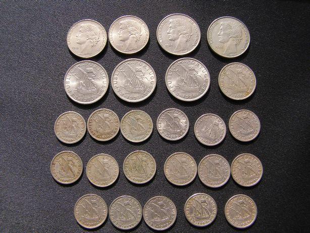 moedas correntes Escudos