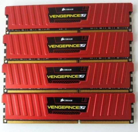 Память Корсар DDR3 16GB (4x4GB) 1600 MHz1333Corsair Vengeance
