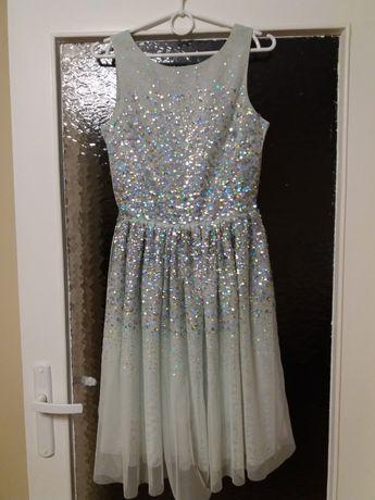Sukienka elegancka H&M 158