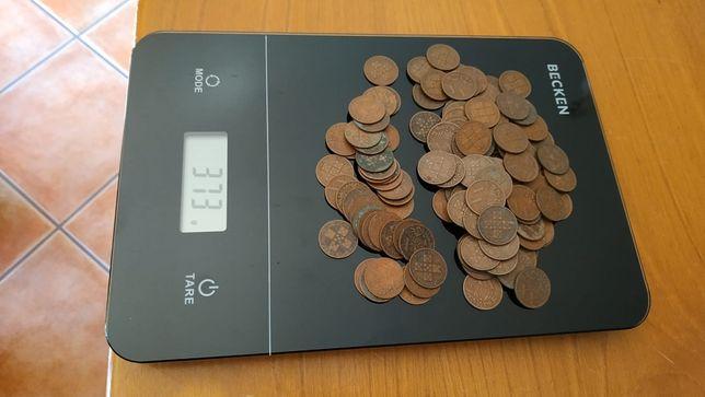 Várias moedas de XX Centavos de 1943 a 1979