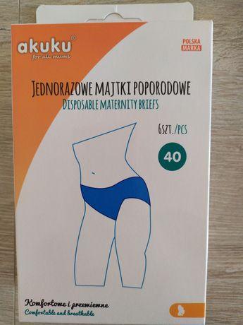 Majtki poporodowe Akuku r.40