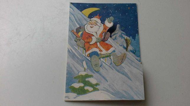 Новогодняя 1964г.открытка