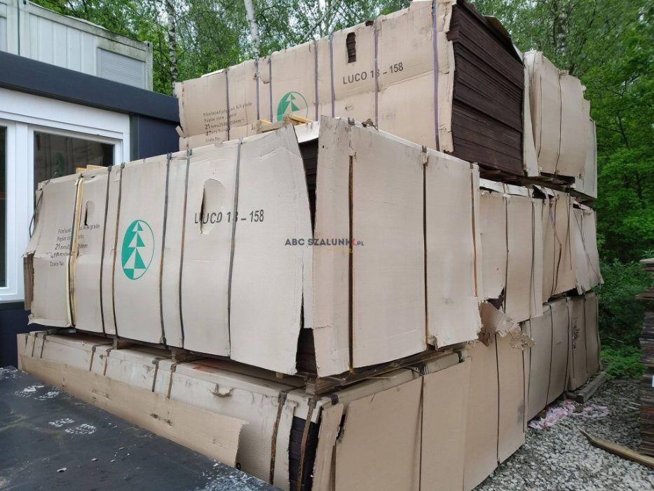 Sklejka topolowa szalunkowa 21 mm NOWA 2500 x 1250 recykling chińska Kraków - image 1
