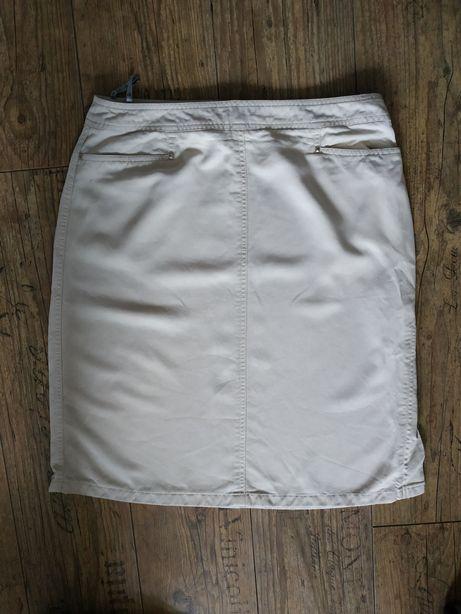 Beżowa spódnica- La Strada by Sievers. Rozmiar 42.