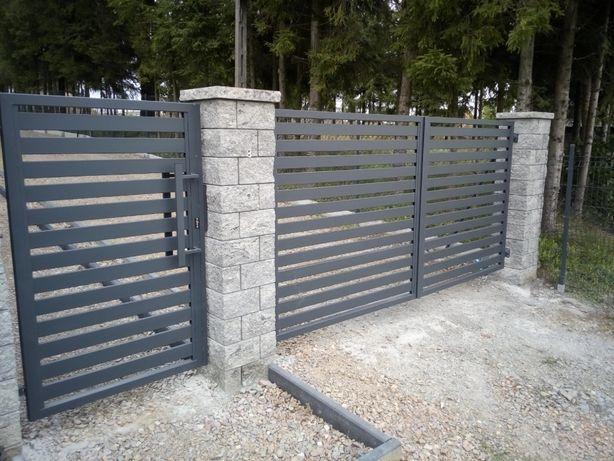 Balustrady, ogrodzenia kompleksowe, budowa od podstaw