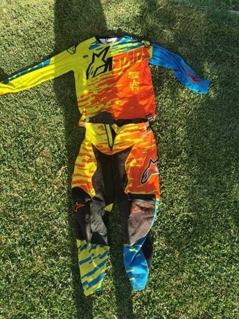 Equipamento motocross